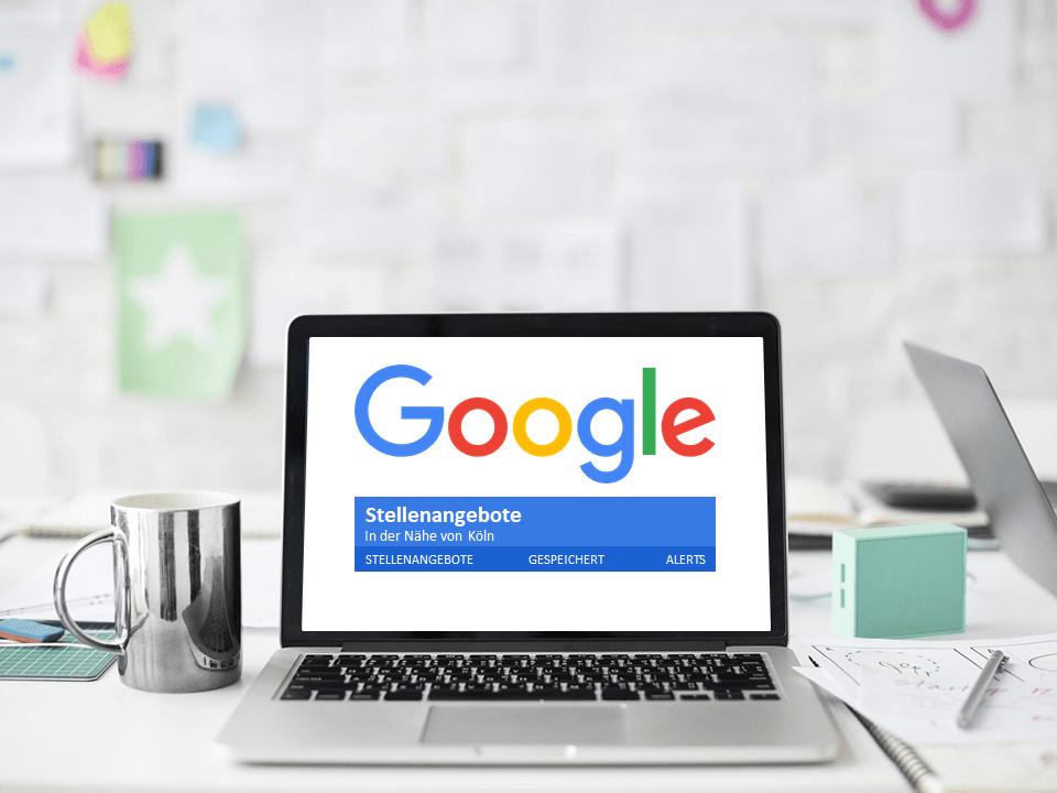 Blogbeitrag von HR Consultion über Google for Jobs