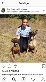Corporate Influencer - ein Beispiel für Mitarbeiter als Markenbotschafter bei der Polizei NRW