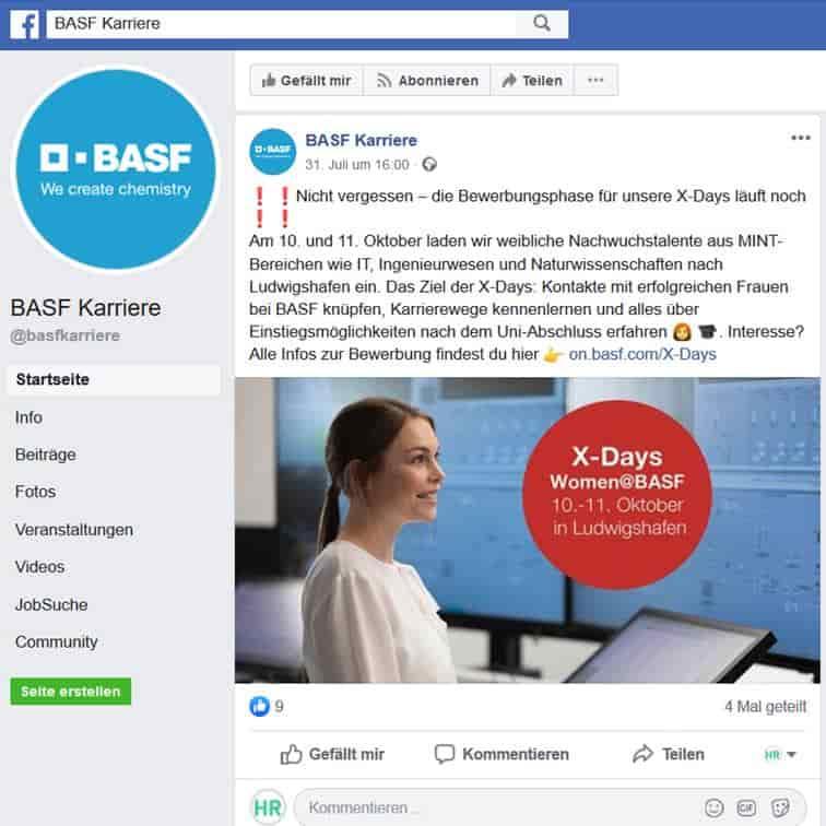 Social Recruiting: Veranstaltungen auf Facebook bewerben