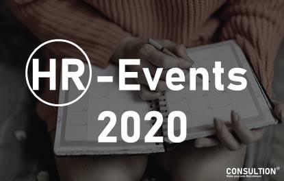 HR-Eventkalender 2020 - alle HR-Events in der Übersicht